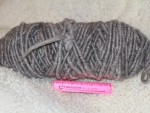 Yarn Corespun Natural Grey 100 Yards 2 Pounds 47% Adult Mohair 53% Shetland/ Cheviot Wool