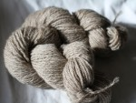 Yarn Tan 3Ply Millspun 50% Adult Mohair 50% Shetland Wool 2.5 Oz Skeins