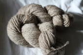 Yarn Tan 3Ply Millspun 50% Adult Mohair 50% Shetland Wool 2.5 Oz 150 Yard Skeins