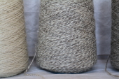 Yarn Tan White Tweed 2Ply Sport