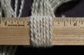 Yarn Sport White Millspun 2 Ply 59% Mohair 31% Shetland Wool - Sold by the Pound